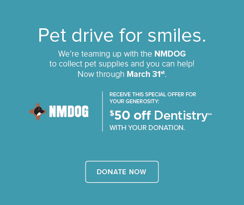 NMDOG Pet Drive - Eagle Pointe Dentists and Orthodontics
